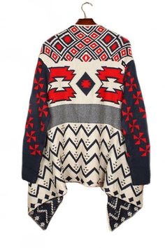 Everest Peak Sweater - Ivory + Multi PRE-ORDER NOW!