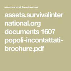 assets.survivalinternational.org documents 1607 popoli-incontattati-brochure.pdf