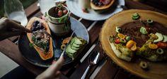 Festive Crunchy and Creamy Onion Mushroom Potato Pot Pies - FoodByMaria Quinoa Salad, Quinoa Spinach, Radish Salad, Ramen Bowl, Noodle Bowls, Vegan Potstickers, Cucumber Rolls, All You Need Is, Almond Bars