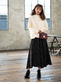 Korean Casual Outfits, Japanese Outfits, Trendy Outfits, Cute Outfits, Frock Fashion, Girl Fashion, Fashion Outfits, Fashion Identity, Aesthetic Fashion