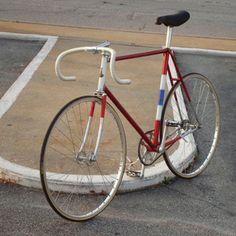 raleigh professional track bike 1972