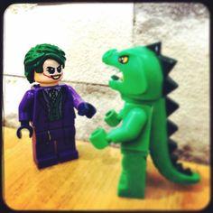 """""""Go make some fun of Batman with your friends!"""" #lego #legocmf #legominifigures #legominifigs #legojoker #legodc #legobatman #legosuperheroes #legofun #legotoys #legoaddict #legostagram #legogram #legophoto #legophotography #legoman #toylego #afol by hocc_superfan"""