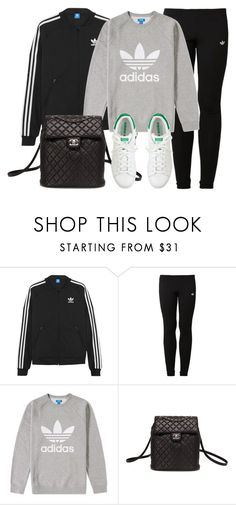 """""""Sin título #11909"""" by vany-alvarado ❤ liked on Polyvore featuring adidas Originals, Chanel and J.Crew Teen Fashion, Winter Fashion, Womens Fashion, Outfit Goals, Outfit Ideas, Korean Fashion Kpop, Image Fashion, Athleisure Trend, Winter Outfits"""