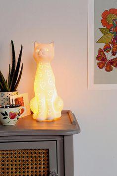 kitty lamp!