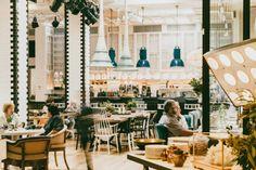 Collage de estilos en Artte: un espacio gastrocultural en Barcelona.