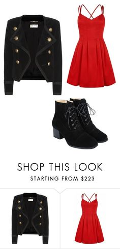 """Blazer line"" by hazelwoodnaomi on Polyvore featuring Yves Saint Laurent"