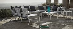 Gloster Vista Sectional (L-Shape) from Thayers