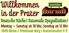 Prater Garten Berlin - Der älteste und schönste Biergarten der Stadt