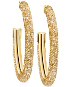 Swarovski Stardust Hoop Earrings