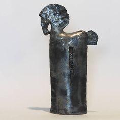 Black Trojan Horse, Ceramic Sculpture, Unique Ceramic Figurine, Horse, Animal Clay, Horse by arekszwed on Etsy