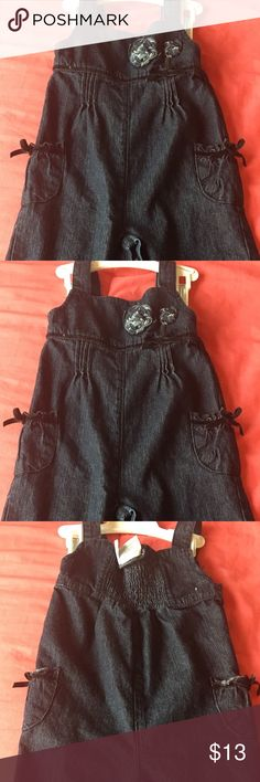 Koala Baby Girl Denim Jumpsuit 9months Koala Baby Girl Denim Jumpsuit 9months koala baby One Pieces Bodysuits