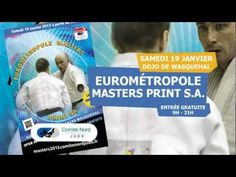 Eurométropole Masters 2013 is a best judo event in North of France.    This event exist for judokas 30 years old and more.