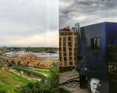 Another split section ofa vista. #minnesota #captureminneapolis #theguthrie #minneapolis #landscape #snapseed