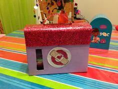 Doc Mcstuffins Valentine Box :)