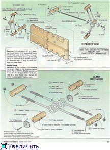 Самодельная струбцина для склейки мебельного щита (вайма)