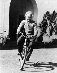 love this shot of Einstein, so full of whimsy