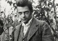 The portrait of young Paul Klee (Bern, Swithzerland 1897)