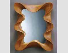 Cherry Taffy Mirror - modern wall mirror