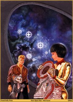 Kelly Freas, Have Space Suit - Will Travel by Robert A. Heinlein 1995.