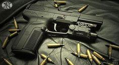 Manufacturer: FN Herstal Mod. Five-Seven Type - Tipo: Pistol Caliber - Calibre: 5.7x28 mm USG Capacity - Capacidade: 20 +1 Shot Barrel length - Comp.Cano: 4.75 Weight - Peso: 20.8...