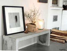 Käyttäjämme Liinan osoitus siitä, että rouheaa tyyliä edustava betonipöytä…