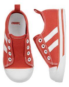 Stripe Laceless Sneaker
