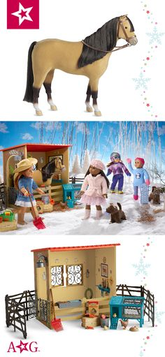 """Warm Your Heart Hot Cocoa /& Sweets Set Toys for 18/"""" American Girl Dolls"""