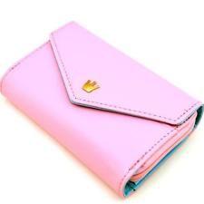 SALE 5% (4.91$) Lady Women Soft Leather Clutch Wallet Long PU Card Purse Handbag