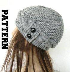 Hand Knit Hat Womens Hat Cloche Hat in Silver Gray Womens cable knit Hat Fall Autumn Winter Accessories Fashion Gift from Ebruk on Etsy. Popular Hats, Cable Knit Hat, Hats For Women, Women Hat, Cloche Hat, Winter Accessories, Hand Knitting, Knitting Patterns, Knitting Projects