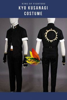 King Of Fighters Kyo Kusanagi Cosplay Costume
