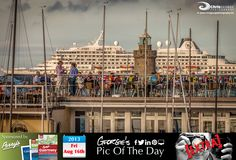 Friday night drinks at the Guernsey Yacht Club #BalmySummer #LoveGuernsey   http://chrisgeorgephotography.dphoto.com/#/album/cbc2cr/photo/17745774  Perrys Guide Ref: Page 25 H1 Picture Ref: 16_08_13b — at St. Peter Port, Guernsey.