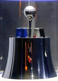 Prestige Pepsi bottle by Karim Rashid for Milan design week 2016