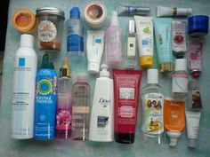 My basket is already full, so here we go with the first part of this month #empties #aufgebraucht (september 2015)