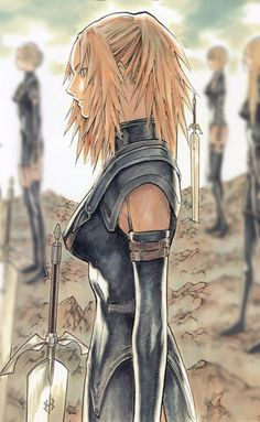 Seven ghosts CLAYMORE