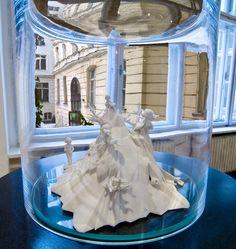 "HELENA LUKASOVA Display at the group show ""Sculpture SOS"" at the Medium Gallery, Bratislava, SK, 2010"
