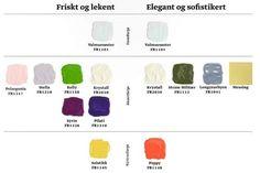 Skap din egen fargepalett! - Fargerike Longyearbyen, Color Inspiration, Elegant, Classy, Chic