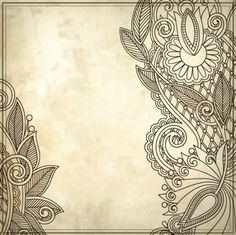 handpainted pattern background 01 vector