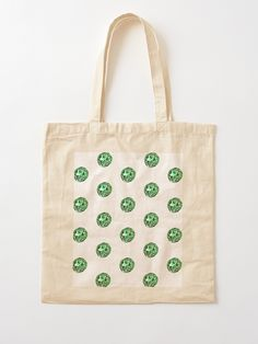 """The JellyPearl No.03"" Cotton Tote Bag, print design by Asmo Turunen. #design #totebag #shoppingbag #kestokassi #kangaskassi #atcreativevisuals"
