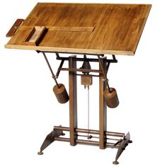 drafting table from a unique collection of antique and modern industrial and work tables at