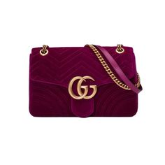 """- """"I'm obsessed with this Gucci bag. The luxe velvet, the rich jewel tone, the gold hardware! Sigh, it's my fall must-have.""""—Sari Tuschman, Editor at LargeGucci GG Marmont Velvet Shoulder Bag, $1790"""