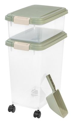 IRIS 3-Piece Airtight Pet Food Container Combo -- You can find more details by visiting the image link.
