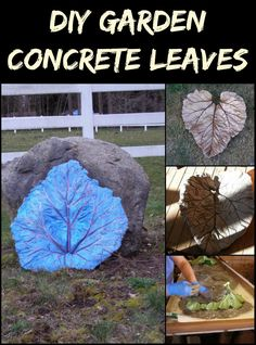 You Can Use These Concrete Leaves in Making a Fountain ec84002ada9