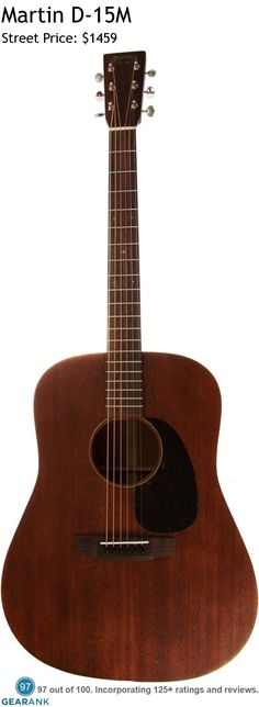 Martin D-15M. This is the highest rated acoustic guitar under $2000. Artists known to play a D-15M include Chris Martin from Coldplay and Andrew Davie from Bear's Den. For a detailed Guide to Acoustic Guitars see https://www.gearank.com/guides/acoustic-guitars