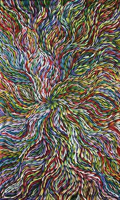 Australian Aboriginal Art - Painting By Janet Golder Kngwarreye