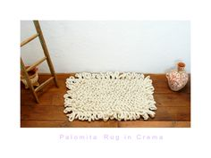 R U G S ! « mexchic design mexican wool hand loomed boulcle loop rug