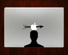 Arrow Head Macbook Pro / Air 13 Decal Stickers