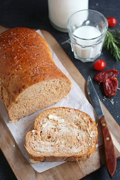 Sun-dried Tomato Cheese Bread by Completely Delicious