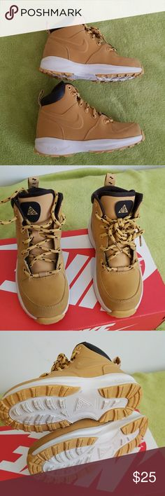 Boys size 12 Nike ACG Great condition sneaker/boot (wheat color) Nike ACG Shoes Boots