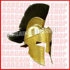 THE KING 300 MOVIE SPARTAN LEONIDAS HELMET LION-HEART 300 SPARTAN MOVIE HELMET