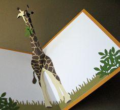 giraffe pop-up | Flickr - Photo Sharing!